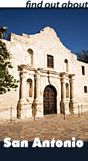 Find out about San Antonio